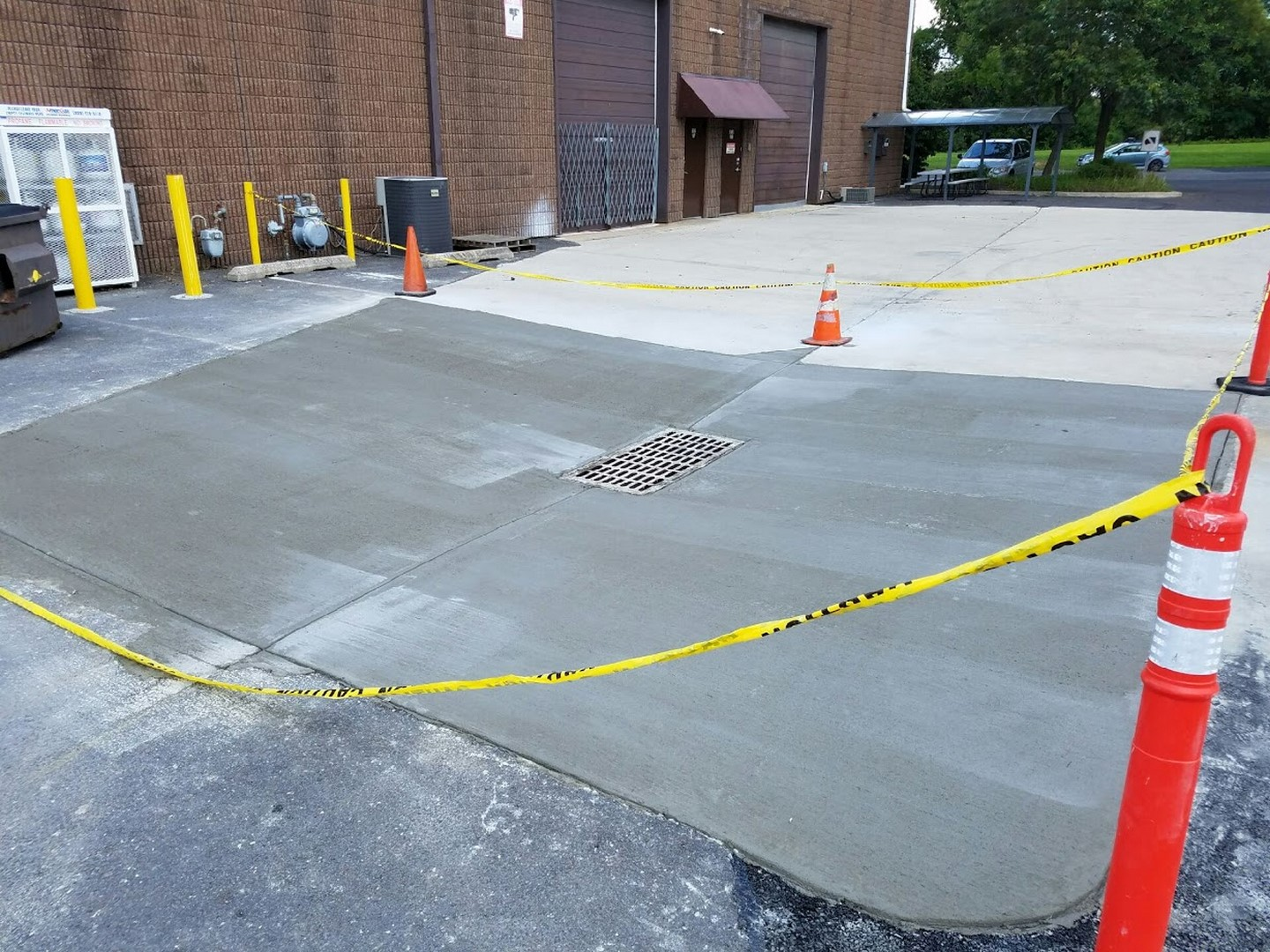 Commercial Concrete Pad